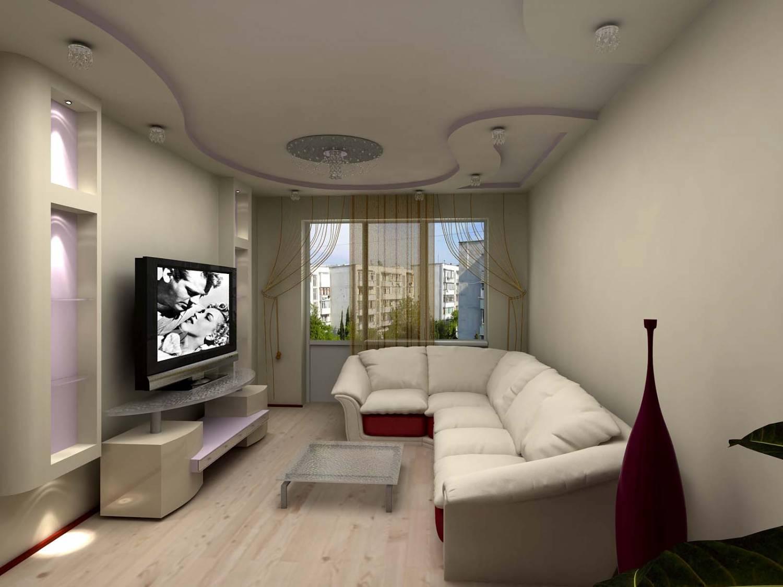 Фото потолков гостиных